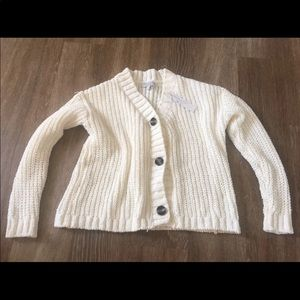 NWT women's cardigan button up